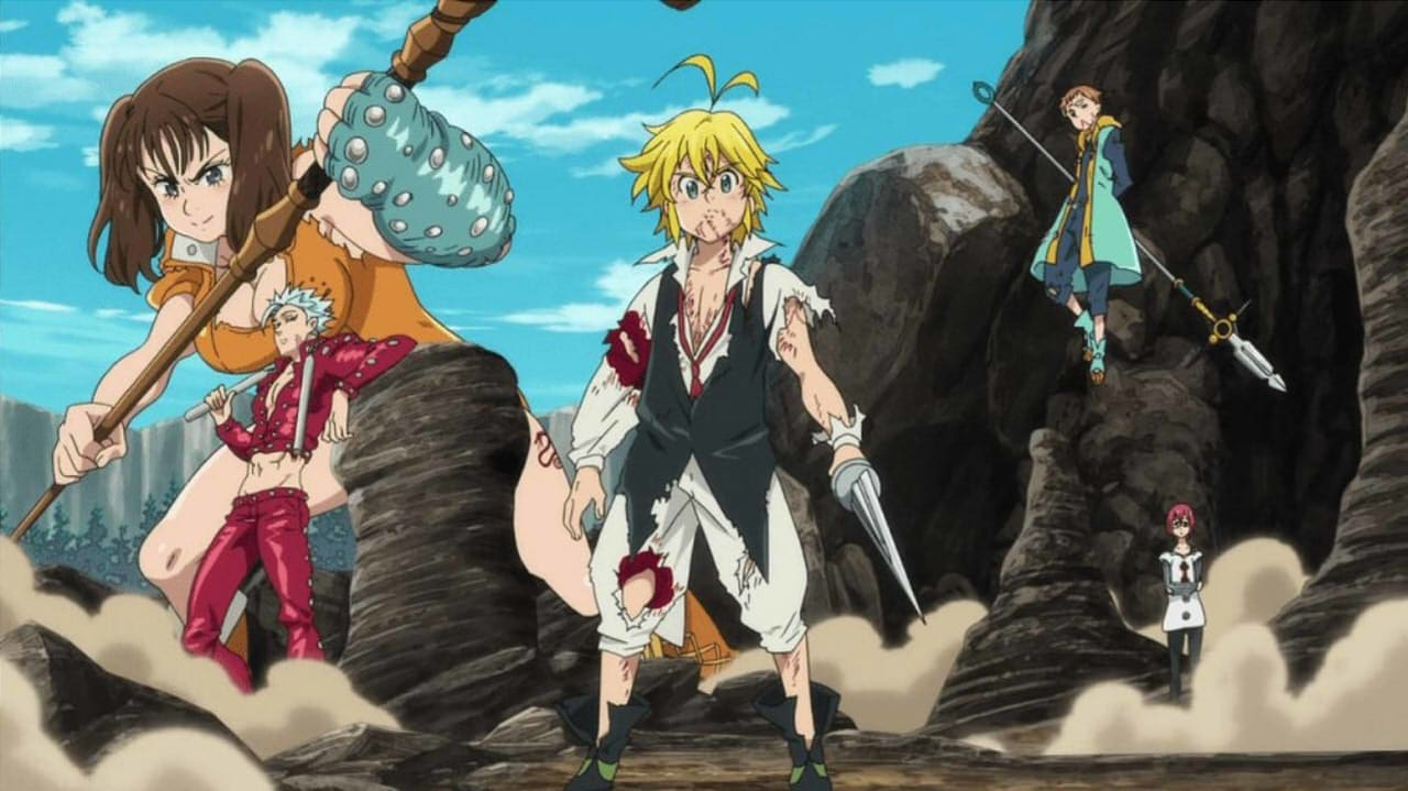 The Seven Deadly Sins Prisoners Of The Sky Stream